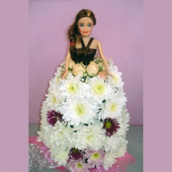 Как сделать кукол из цветов 106